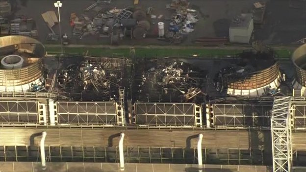 Didcot B power station fire