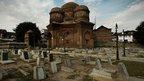 Graveyard adjacent to Budshah mausoleum