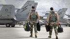 Australian air force personnel (21/09/14)