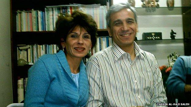 Samira al-Khalil and Yassin al-Hajj Saleh