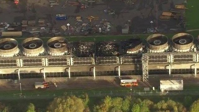 Didcot fire damage
