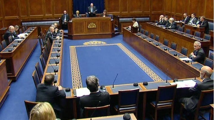 Northern Ireland Assembly chamber