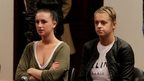 Michaella McCollum Connolly and Melissa Reid in court in Callao on 21 August 2013