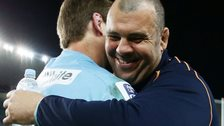 New South Wales Waratahs coach Michael Cheika