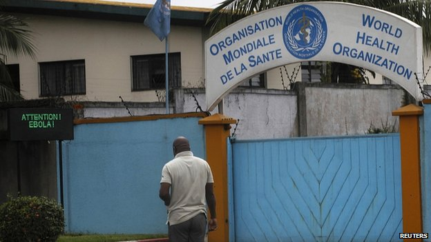 WHO compound in Abidjan, Ivory Coast. 15 Aug 2014