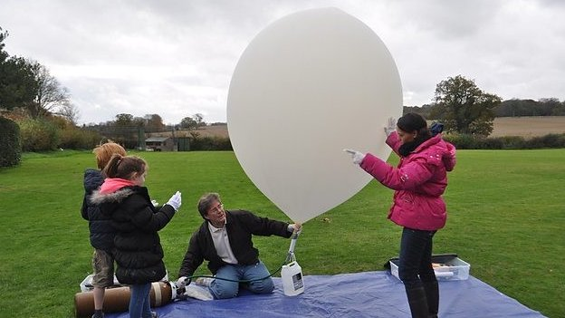 Balloon camera