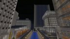 Virtual city created in Minecraft