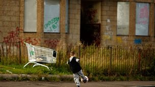 Child in Glasgow