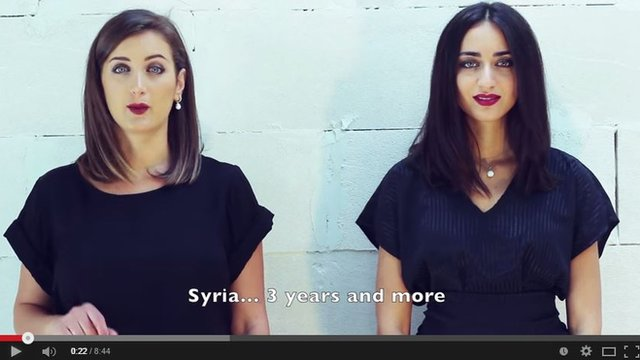 "Sisters Faia and Rihan in ""To Our Countries"""
