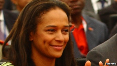 Isabel dos Santos, daughter of the Angolan president