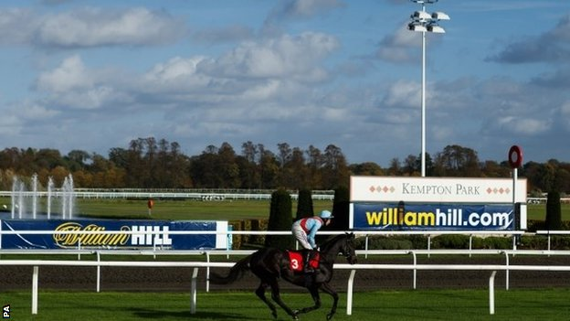 horse racing results kempton