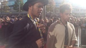 Rizzle Kicks take the tie challenge