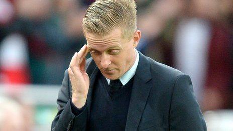Swansea boss Garry Monk