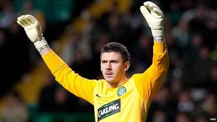 Celtic goalkeeper