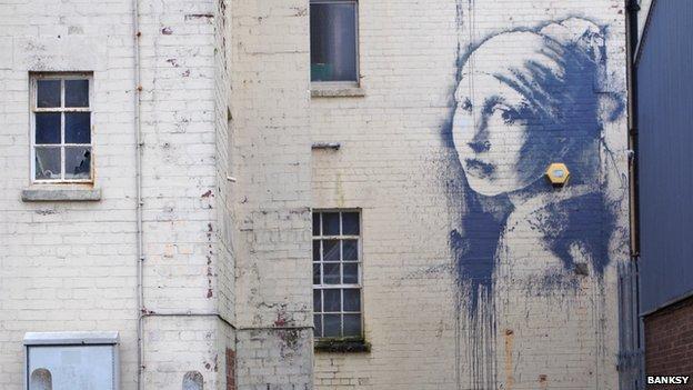 New Banksy mural