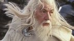 Sir Ian McKellen as Gandalf the wizard
