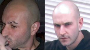 Robert Cerqua (left) and his identical twin Christopher