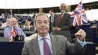UKIP leader Nigel Farage - file pic