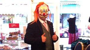 Portsmouth clown