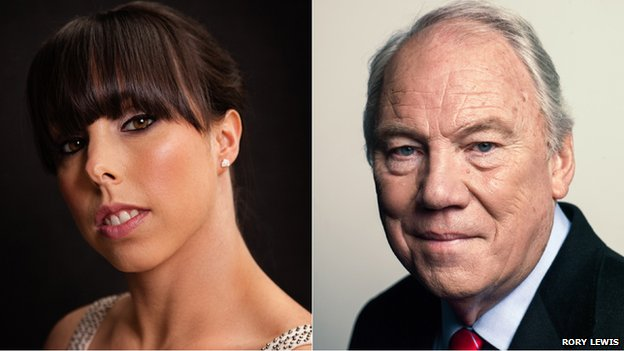 Beth Tweddle and Peter Sissons