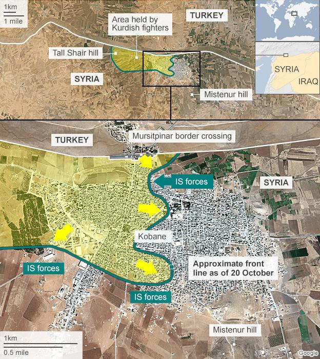 Kobane, 20 Oct 2014