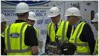 Prime Minister David Cameron visited Dagenham's Ford plant