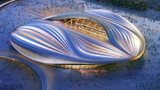 Stadium in Al-Wakrah for the Qatar 2022 World Cup
