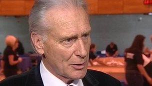 Torbay mayor Gordon Oliver