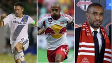 Robbie Keane, Thierry Henry and Jermain Defoe