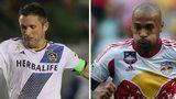 Robbie Keane, Thierry Henry and Jermain Defoe