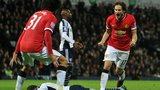 Daley Blind equalises for Manchester United
