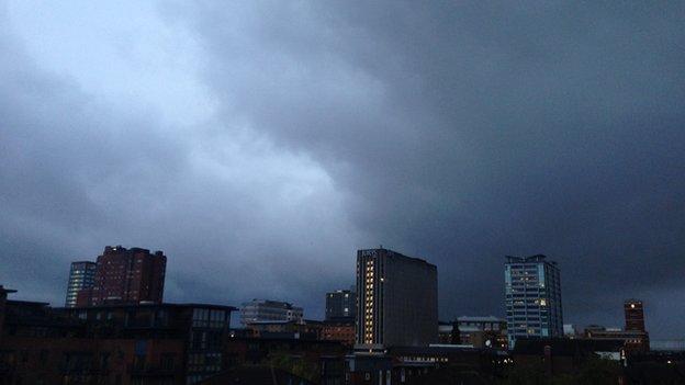 Sky over Birmingham
