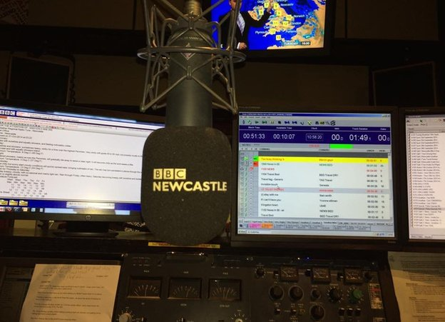 BBC Newcastle studio