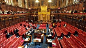 Chamber of House of Lords