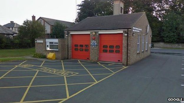 Barnard Castle Fire Station