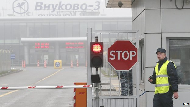 Vnukovo-3 airport outside Moscow, Russia