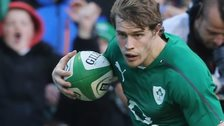 Andrew Trimble of Ireland and Ulster