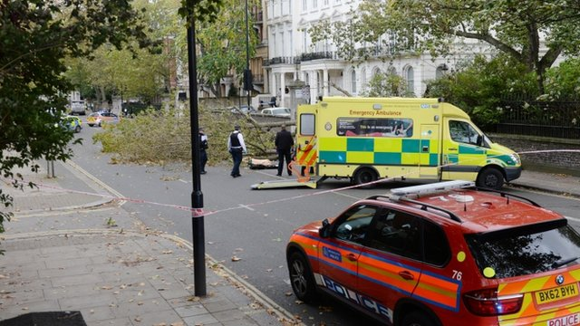VIDEO: Storm leaves one dead and four hurt...