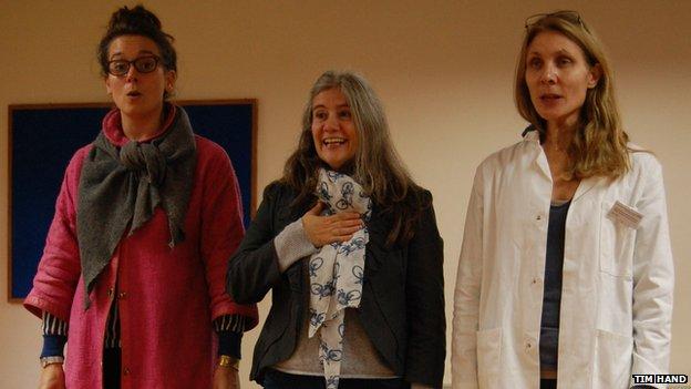 Anna Dennis, Rebecca Askew, Melanie Pappenheim