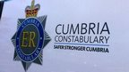 Cumbria Police van badge