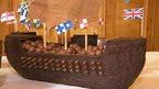 chocolate ship