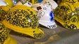 Hong Kong protesters hard hats