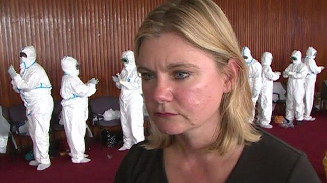 VIDEO: More UK medics travel to Ebola area...