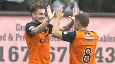 Dundee United midfielders Paul Paton and John Rankin