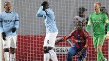 Manchester City concede a penalty at CSKA