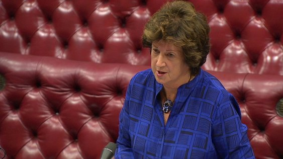 Foreign Office Minister Baroness Anelay of St John's