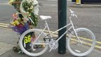 The ghost bike