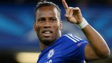 Didier Drogba in Chelsea action