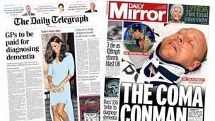 Front pages