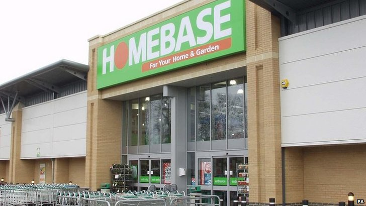 A Homebase store in Stanford near Lincolnshire.